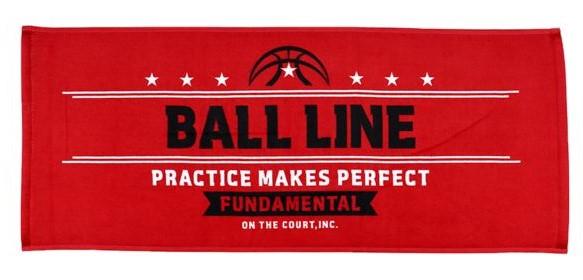 TWL-404 / BALL LINE / TOWEL / タオル / スポーツタオル / ボールライン