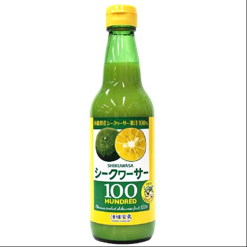 沖縄宝島 シークワーサー果汁 100% 360ml 4582112265264