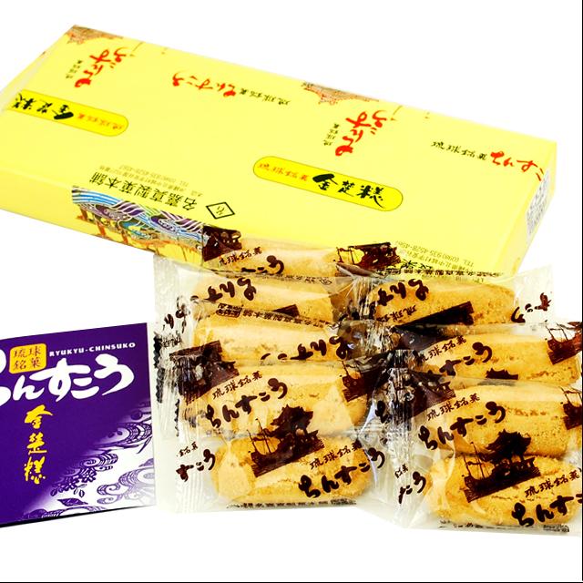 名嘉真製菓本舗 ちんすこうミニ 2個×7袋入り 4997373000057