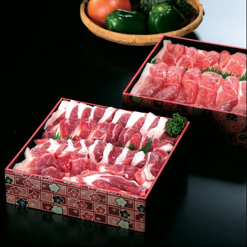 [送料無料] あぐー豚しゃぶしゃぶセット ウデ肉またはモモ肉 1kgセット 分納 1000170001295