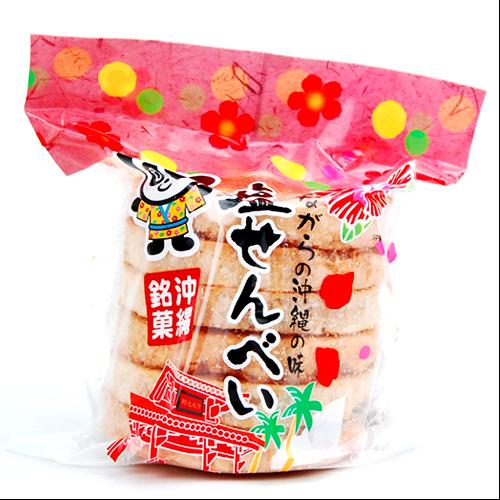 丸眞製菓 素朴な味わいが人気 昔ながらの塩せんべい 4950647100211