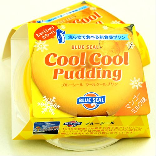 沖縄宝島 ブルーシール クールクールプリン マンゴーミルク 風味 4582112265530