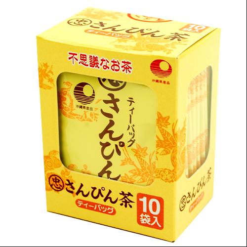 不思議なお茶 さんぴん茶 ティーバッグ 2g×10袋 箱入 4976559981236