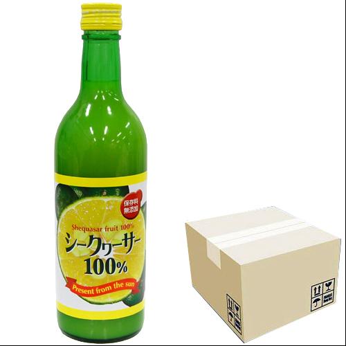 台湾産シークワーサー 100% 500ml × 12本セット 4988555061881