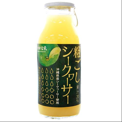 沖縄宝島 粗ごしシークワーサー 180ml 4582112265653