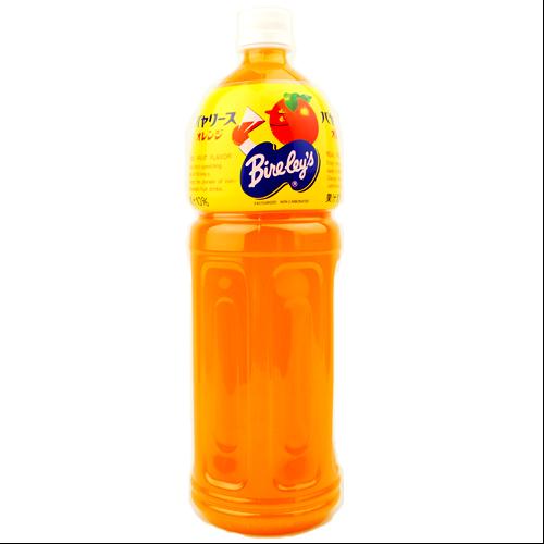 沖縄旅行/修学旅行/沖縄お土産/ 沖縄バヤリース オレンジ 果汁10% 1.5L ペットボトル 4514603298819