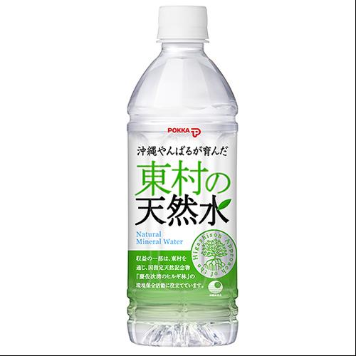 沖縄本島 東村の天然水 500ml 4902471034750