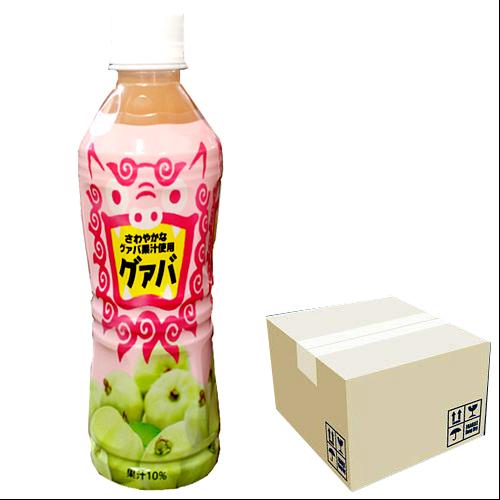 沖縄ボトラーズ グアバ 10%果汁 400ml × 24本セット 4541743400192
