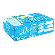 沖縄旅行/修学旅行/沖縄お土産/ オリオン ノンアルコールビール クリアフリー 350ml × 24缶ケース 4962656245012