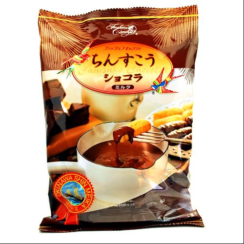 沖縄旅行/修学旅行/沖縄お土産/ ファッションキャンディ ちんすこうショコラ ミルク125g 4935799163697