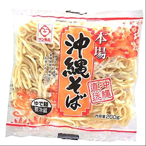 沖縄そば L麺 ソフト 200g 4960785101612