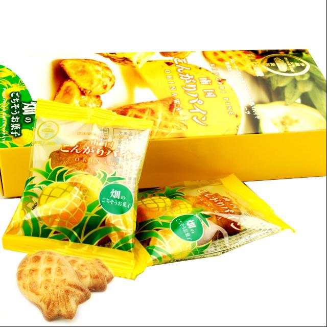 御菓子御殿 南国こんがりパイン 10個入り箱 4992866627346