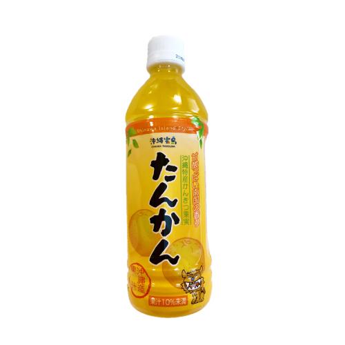 沖縄宝島 素材活力 たんかん 500ml ペットボトル 4582112262713