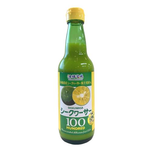 沖縄宝島 シークワーサー果汁 100% 360ml × 12本 4582112265264