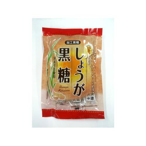 沖縄宝島 高知県産生姜を使った しょうが黒糖 120g入り袋 4582112265288