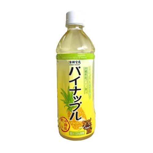 沖縄宝島 素材活力 パイナップル 500ml ペットボトル 4582112262720