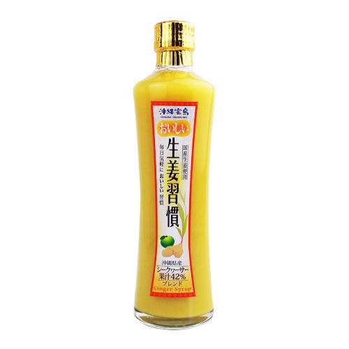 【初めての方限定】沖縄宝島 おいしい生姜習慣 300ml × 3本セット 4582112265844