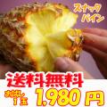 【送料無料】沖縄産スナックパイン1玉(500g~800g)産直価格!でお届け♪TVで話題のパイナップル