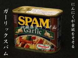 ガーリックスパムポーク缶(ポークランチョンミート)