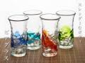 琉球ガラスのビールグラス