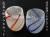 琉球ガラスの気泡たる形グラスペアギフトセット