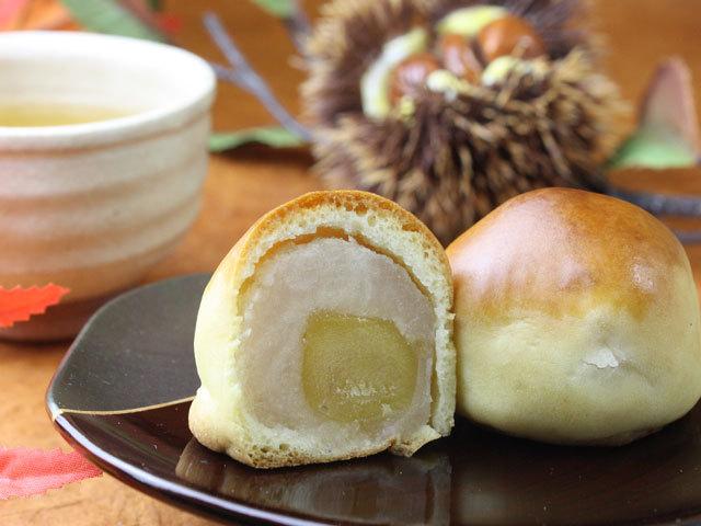 栗の生産高日本一の茨城の和菓子・栗饅頭