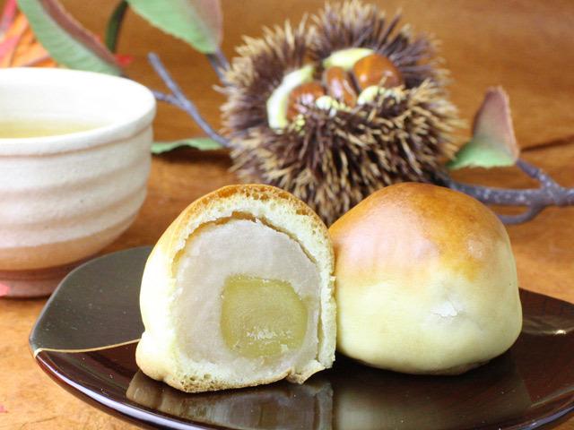 栗まんじゅう・ひな祭りの和菓子