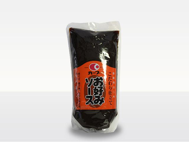 カープ お好みソース1.2kg(レギュラー)