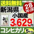 新米28年産新潟県小国産コシヒカリ5kg