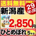 29年産新潟県産ひとめぼれ 5kg