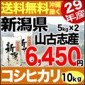 【地域限定】29年産新潟県山古志産コシヒカリ 10kg(5kg×2)