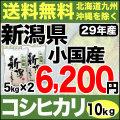 【地域限定】29年産新潟県小国産コシヒカリ 10kg(5kg×2)
