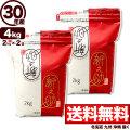 30年産新潟県産 新之助 4kg(2kg×2袋)