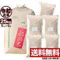 新米 令和元年産 新潟県岩船産コシヒカリ玄米 小分け5袋 25kg【一等米使用】
