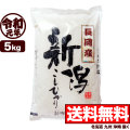 令和元年産新潟県長岡産コシヒカリ 5kg【一等米使用】