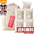 【新米】令和元年産 新潟県産キヌヒカリ玄米 小分け5袋 25kg【11月のお奨め銘柄】