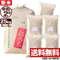 新米 令和2年産 新潟県産こしいぶき玄米 小分け5袋 25kg