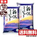 新米 令和2年産 新潟県産コシヒカリ 山並 10kg(5kg×2)
