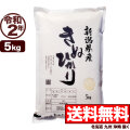 令和2年産新潟県産キヌヒカリ 5kg