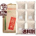 【地域限定】令和2年産新潟県南魚沼産コシヒカリ 30kg 小分け6袋【送料別】