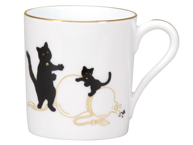 『黒猫親子』-縁起物語- マグその1「瓢箪から駒」