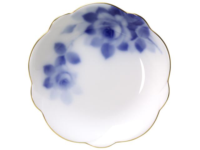 ブルーローズ(8011) 梅型小皿