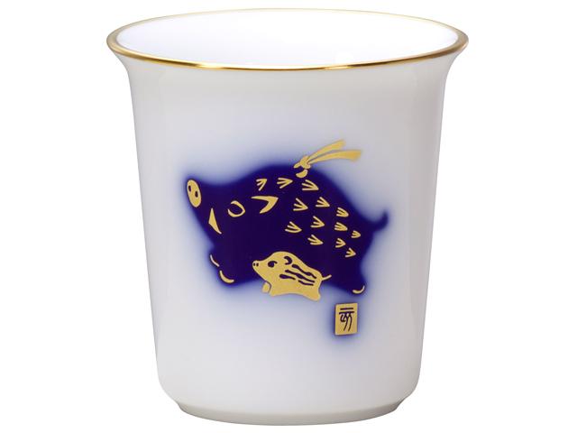 干支シリーズ ミニカップ 「亥」(い)