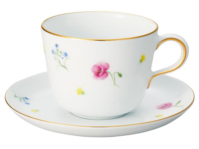 花だより モーニングカップ&ソーサー