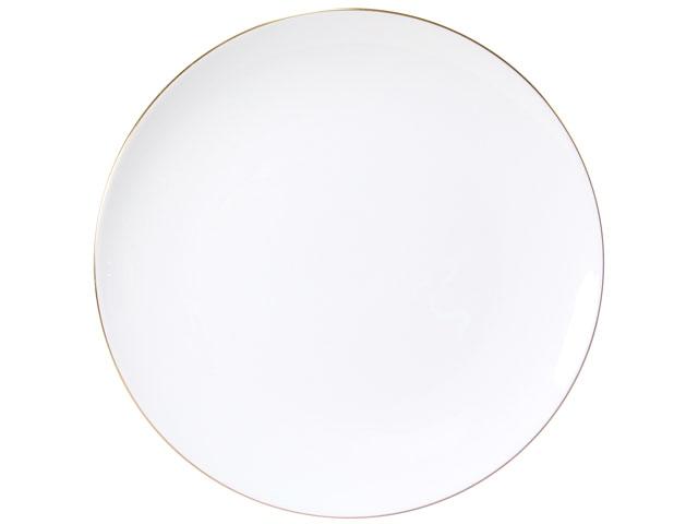 ゴールドライン(クープシェープ) 23cmミート皿