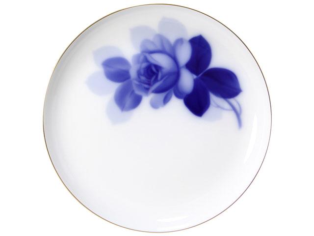 ブルーローズ(8211) 23cmミート皿