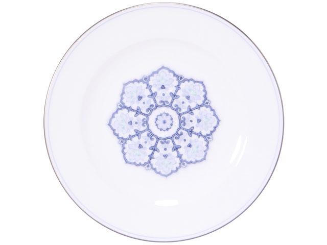 【手描き】呉須正倉院 20cmデザート皿