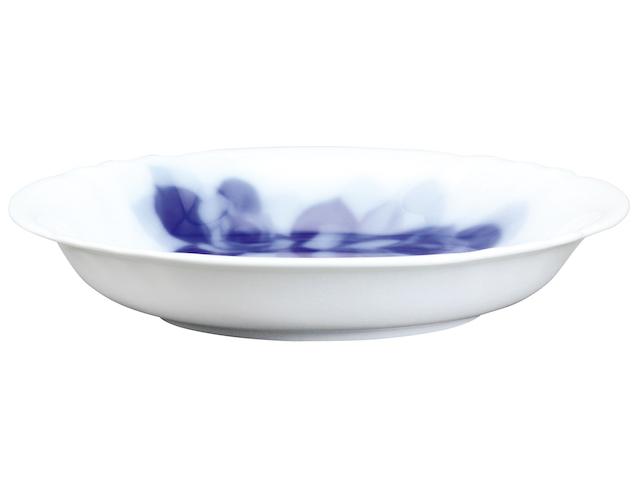 ブルーローズジャネット 14.5cmディーププレート(フルーツ皿) <レンジ対応>