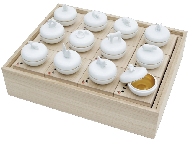 干支香合 12種セット(専用箱付)