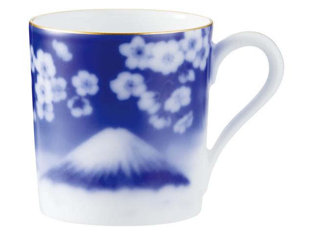 『花見富士』 マグカップ